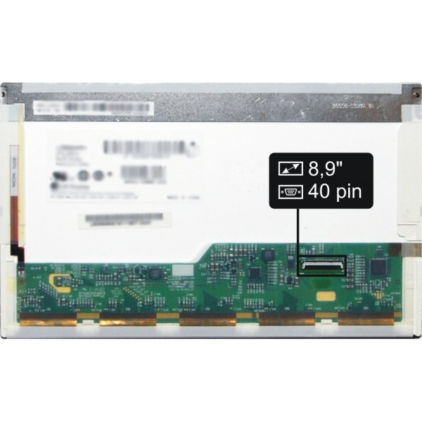 "Display IBM Lenovo 42T0599 FRU Displej LCD 8,9"" 40pin WSVGA LED"